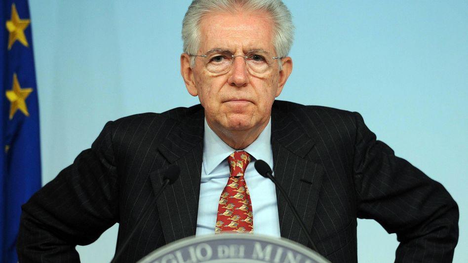 Italiens Regierungschef Mario Monti: Wider den Populismus