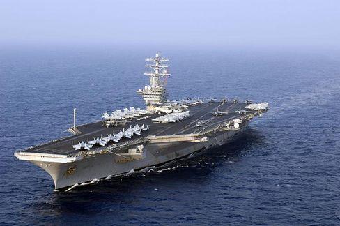 """USS Nimitz"" im Westpazifik: Größte Flugzeugträger-Klasse der Welt"