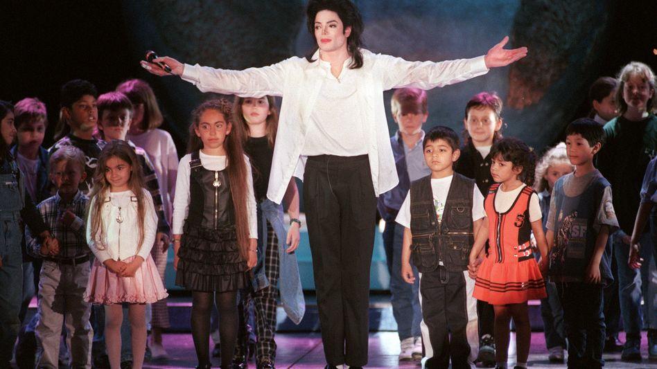 US-Popstar Michael Jackson (Archivbild von 1996)