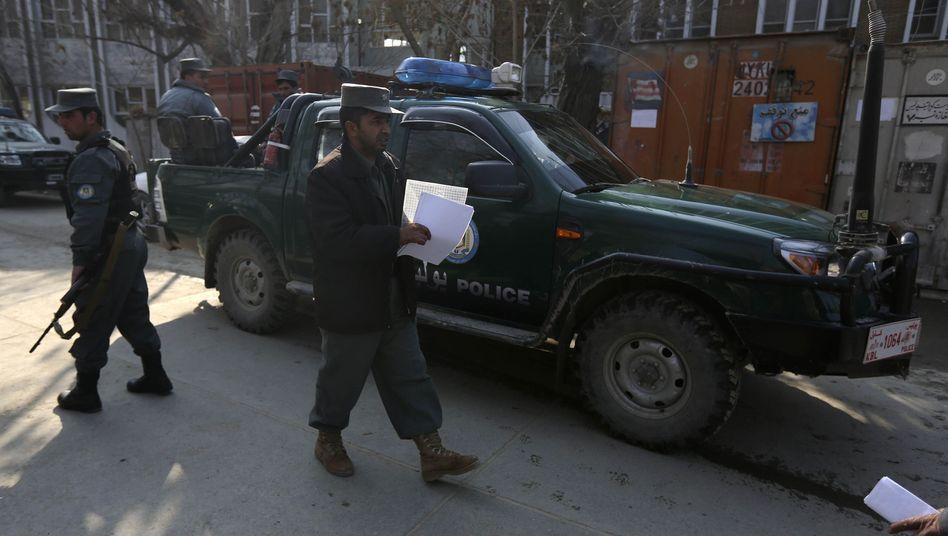 Vorfall in Kabul: Afghanische Polizistin erschießt US-Berater