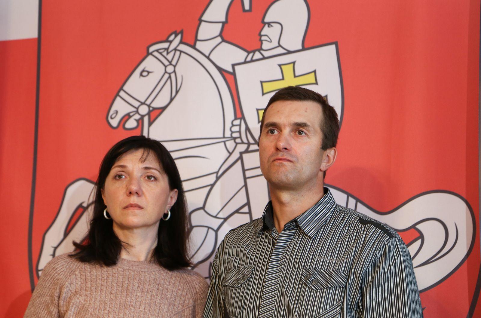 Konflikt mit Belarus - Pressekonferenz Eltern