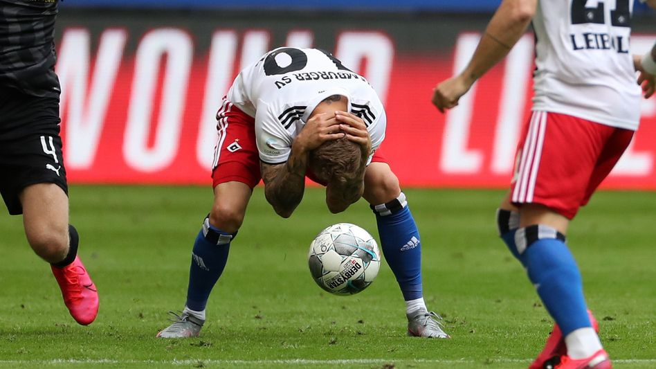 Hamburgs Sonny Kittel: Verbleib in Liga zwei