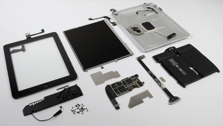 Geknackt: Das iPad von innen
