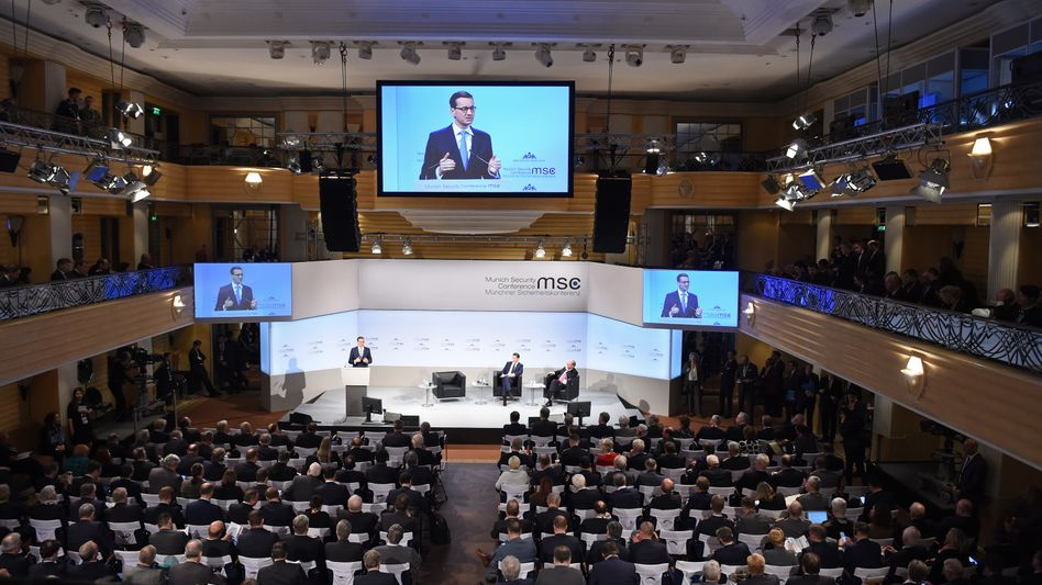 Polens Premier Morawiecki auf der Münchner Sicherheitskonferenz
