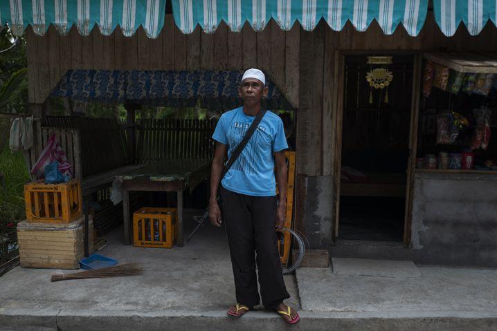 Muslimischer Bauer Mohammad im Süden der Philippinen