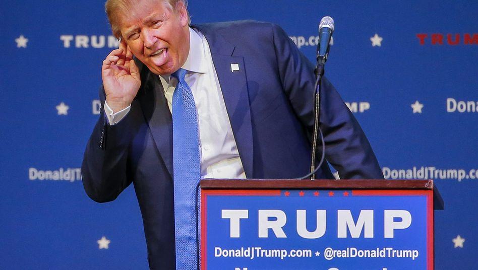 """Donald Trump auf Wahlkampftour: """"Dahin zurückgehen, wo sie herkommen"""""""