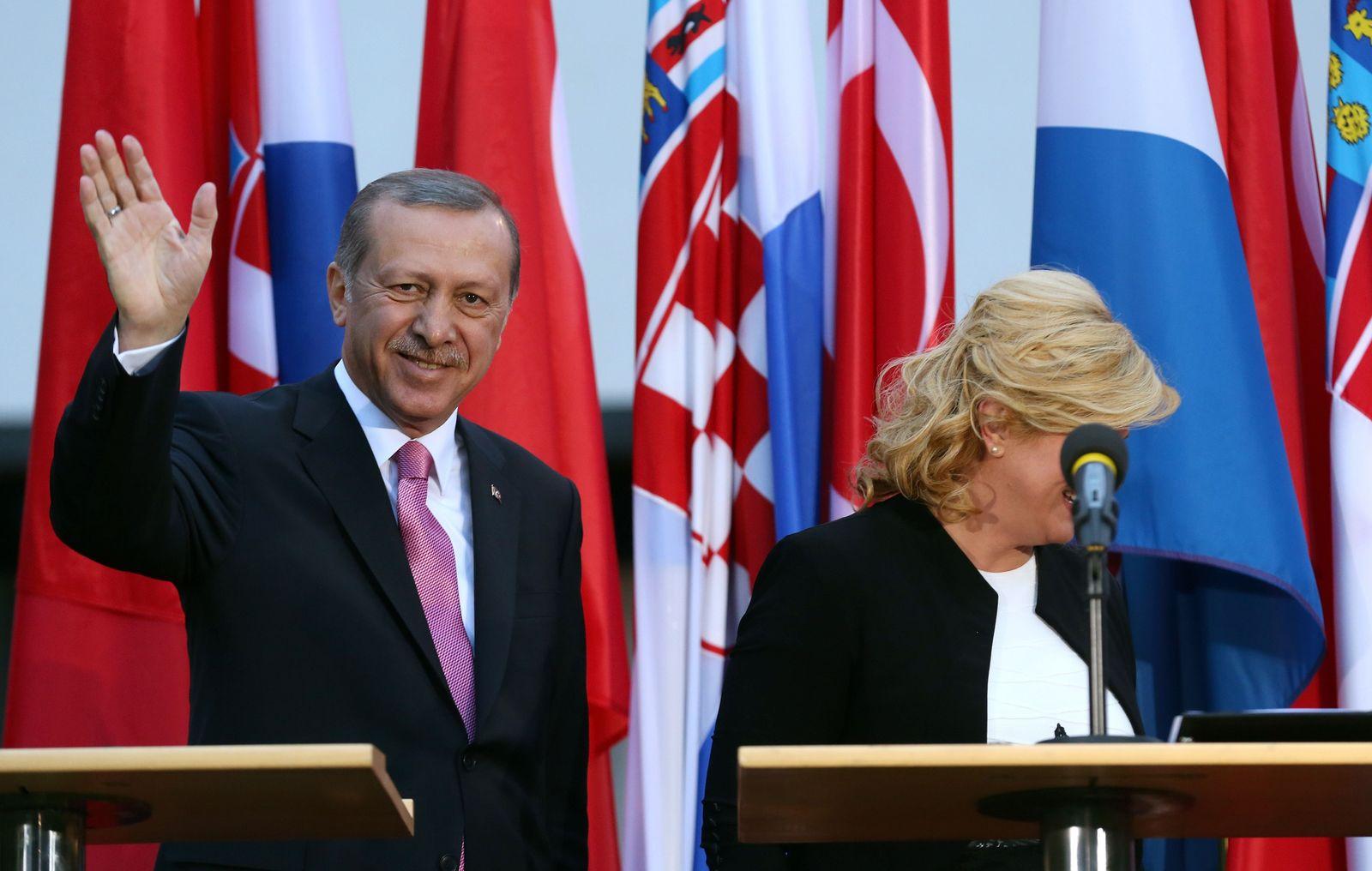 Erdogan Türkei Zagreb