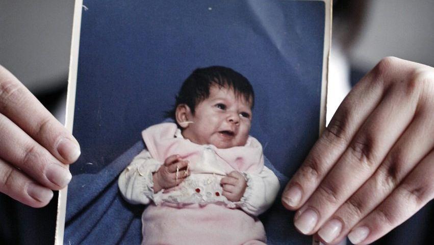 Gekaufte Tochter Sabrina heute, als sechs Wochen altes Baby: »In Liebe gezeugt«