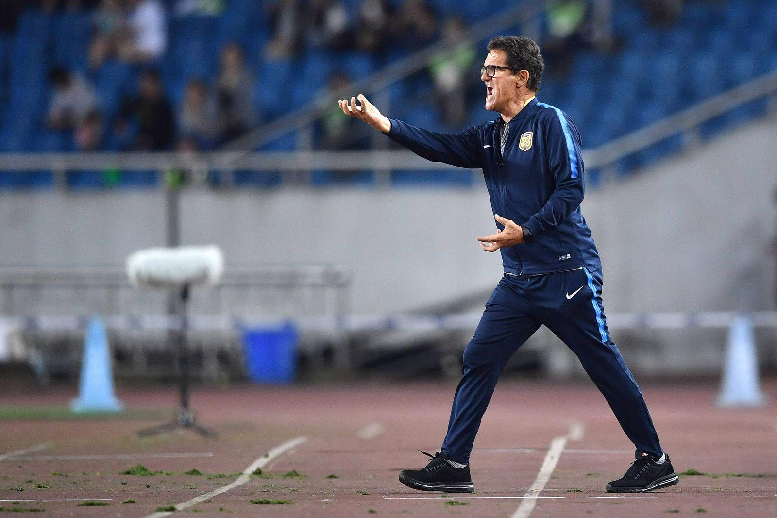 EINMALIGE VERWENDUNG Fabio Capello