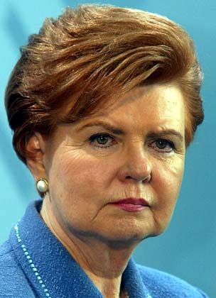 Latvian President Vaira Vike-Freiberga says she would have trouble attending ceremonies commemorating the end of World War II in Moscow. She wants recognition that the Soviets were brutal occupiers, not liberators of her country.