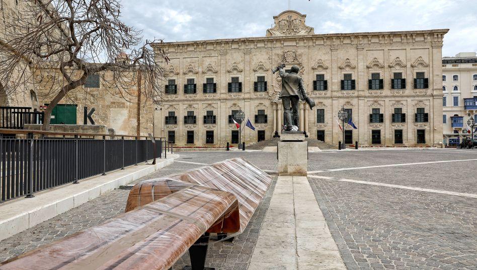 Regierungssitz auf Malta: Internationaler Imageschaden