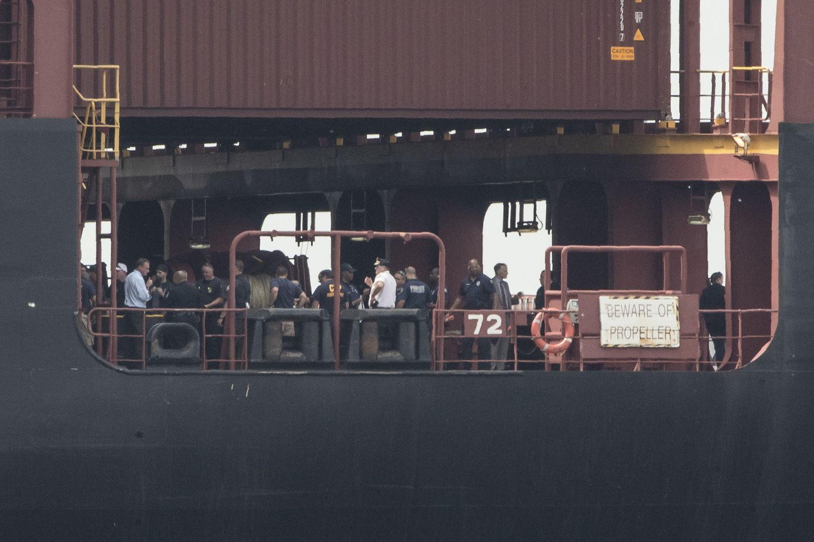 Kokainfund im Hafen von Philadelphia