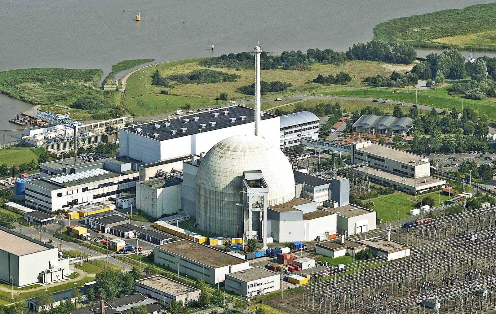 NICHT VERWENDEN Atomkraftwerk/Unterweser