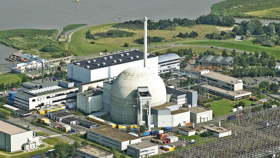 Unterweser: Das Kraftwerk ist stillgelegt und soll nicht wieder in Betrieb gehen.
