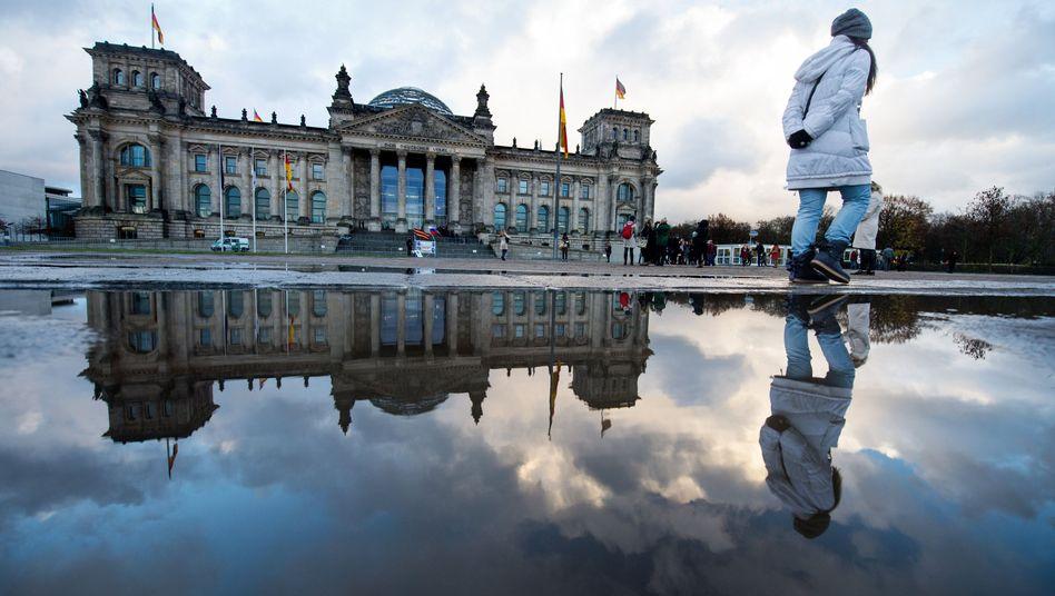 """Reichstagsgebäude in Berlin: """"Die Deutschen nehmen kaum Notiz"""""""