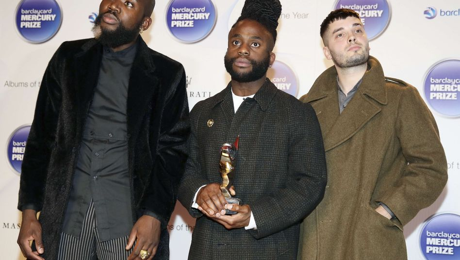 HipHop-Trio Young Fathers: Die Gewinner am Mittwochabend in London