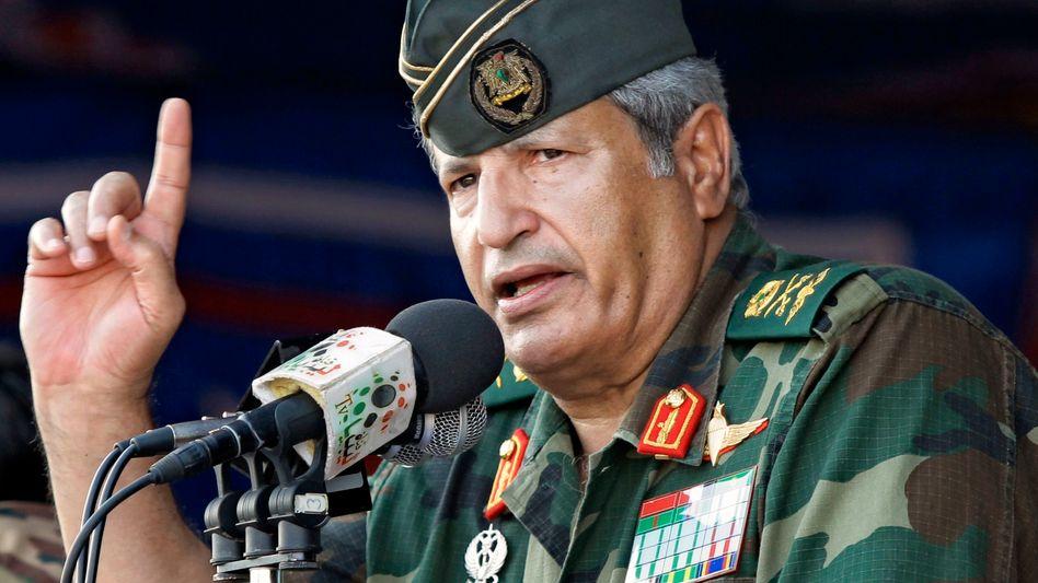 Ehemaliger Gaddafi-Minister: Libysche Rebellen melden Tod ihres Militärchefs