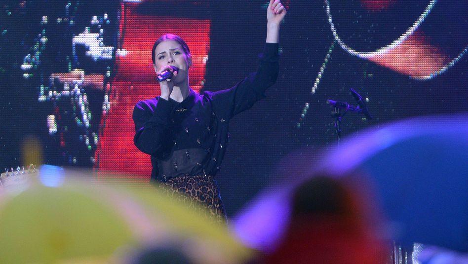 """Lena Meyer-Landrut bei der Party für den ESC in Hamburg: """"Es ist mir so unangenehm"""""""