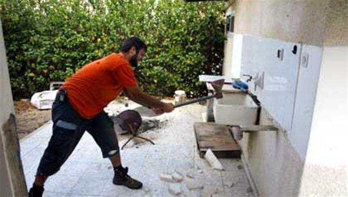 Gaza-Abzug in Bildern: Wut und Verzweiflung
