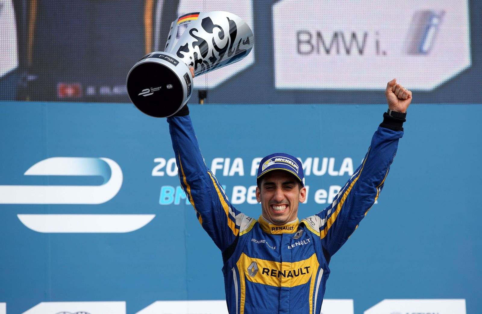 FIA Formel E Sebastien Buemi