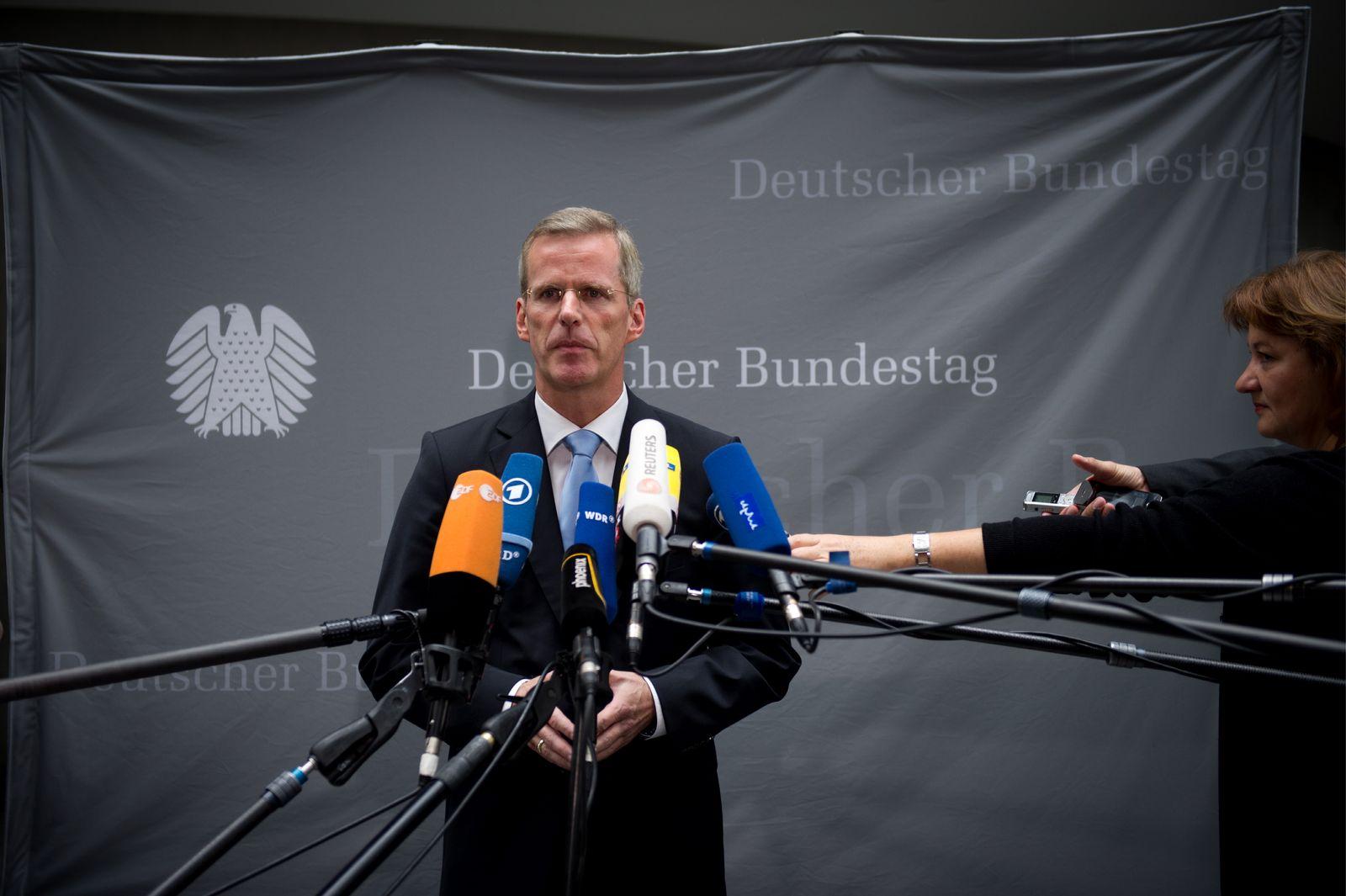 NICHT VERWENDEN NSU/ Untersuchungsausschuss/ Clemens Binninger/