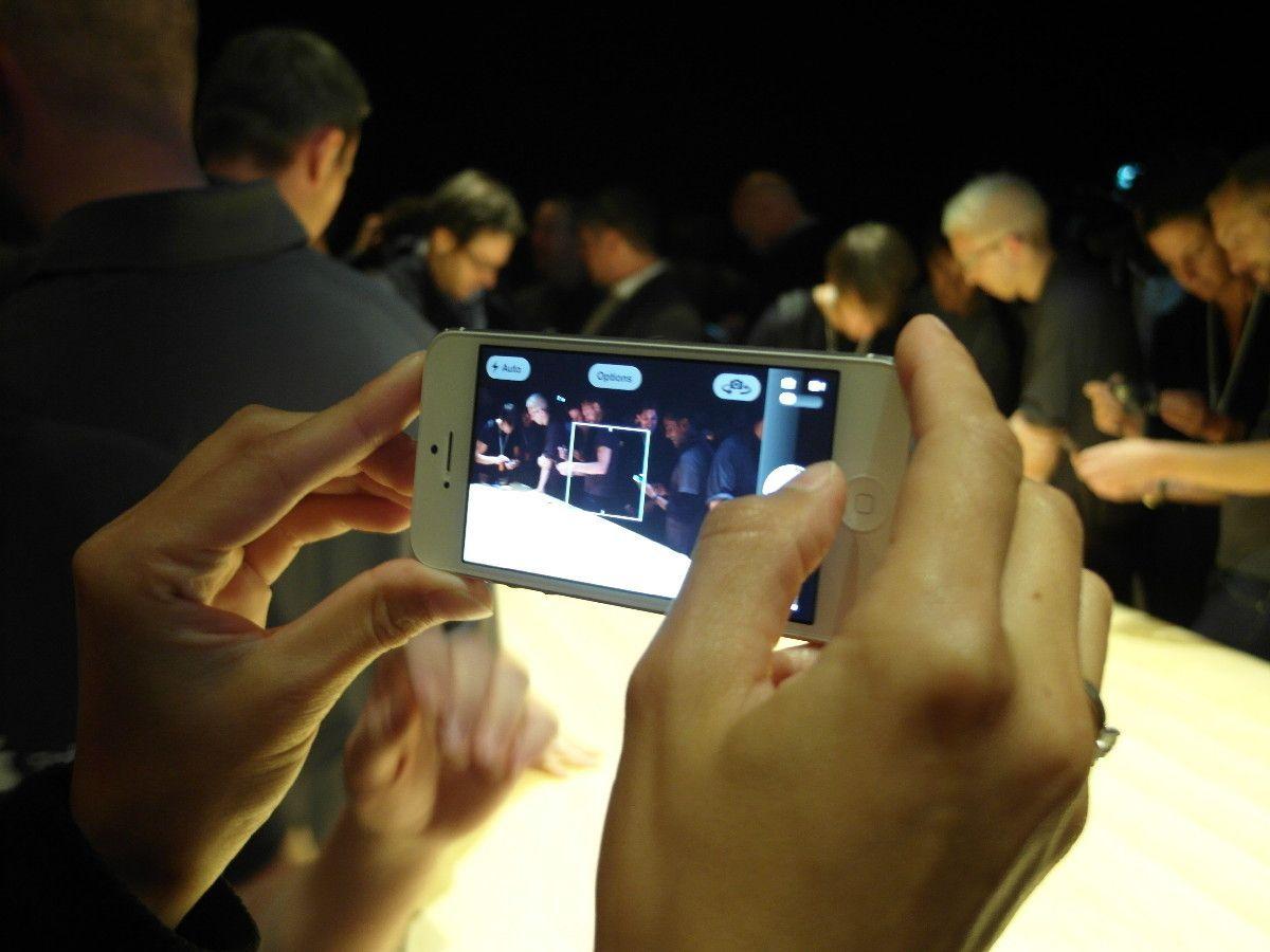 iPhone 5 / Angefasst / kamera