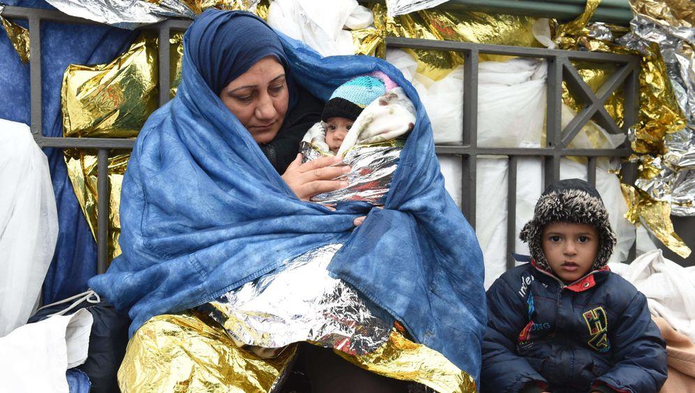 Flüchtlingskrise im Winter: Es wird kalt