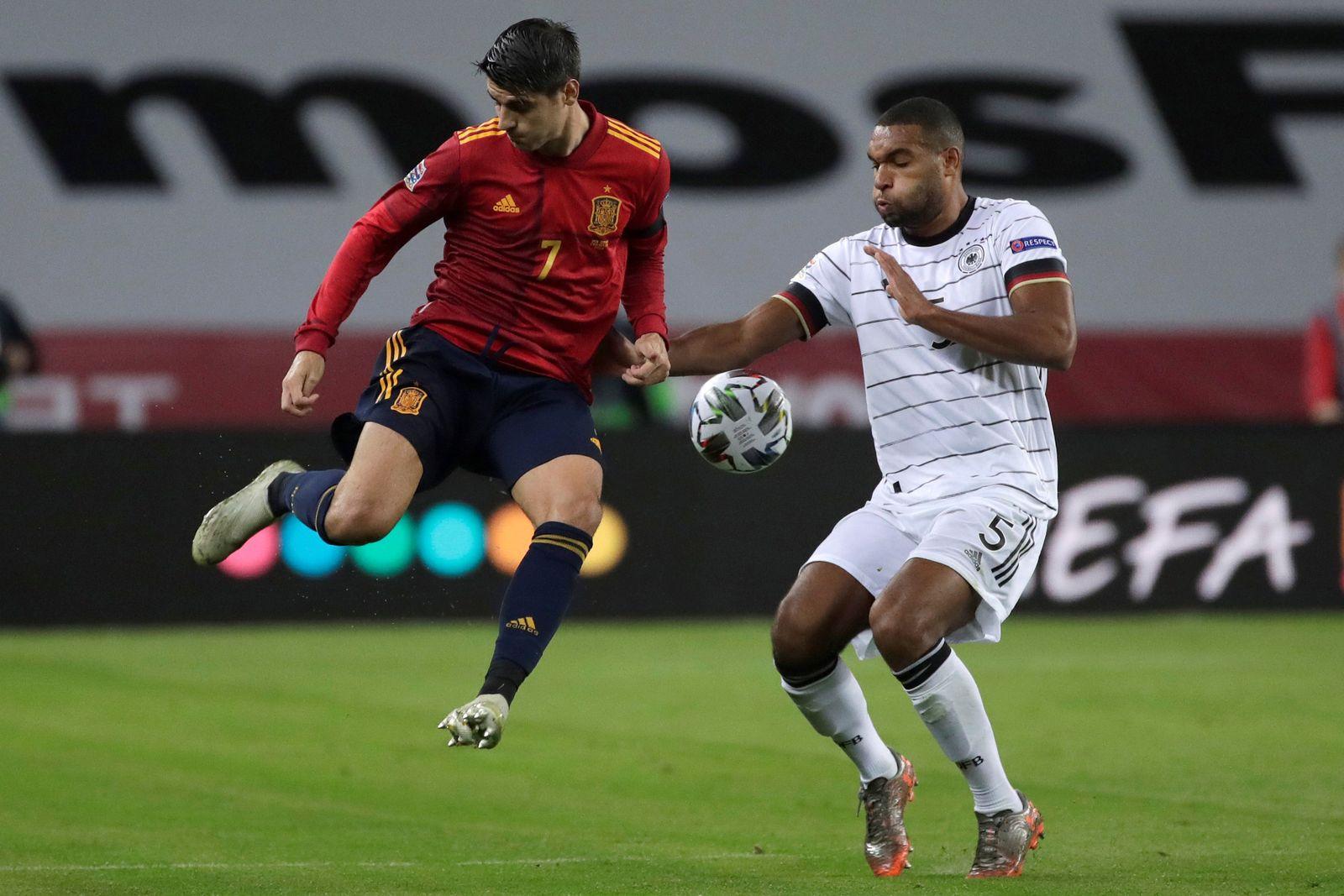 Spain vs Germany, Sevilla - 17 Nov 2020