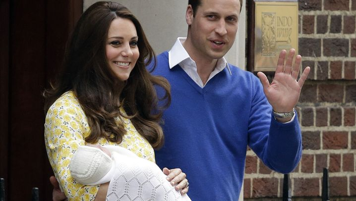 Geburt in London: Royal Baby Nummer zwei