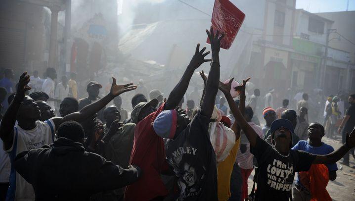 """Haiti: """"Auch ein Erdbeben wird zum Geschäft"""""""