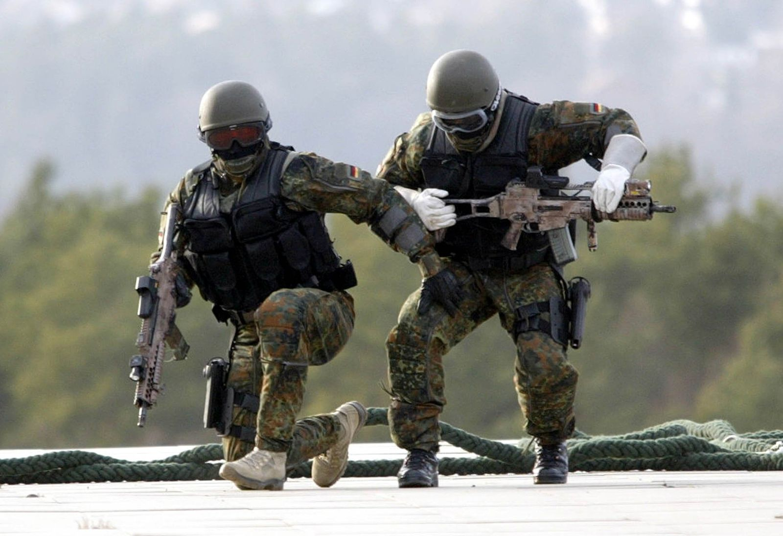 Übung der Kommando Spezialkräfte (KSK)
