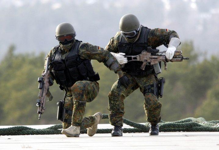 KSK-Soldaten bei einer Übung (Archivbild)