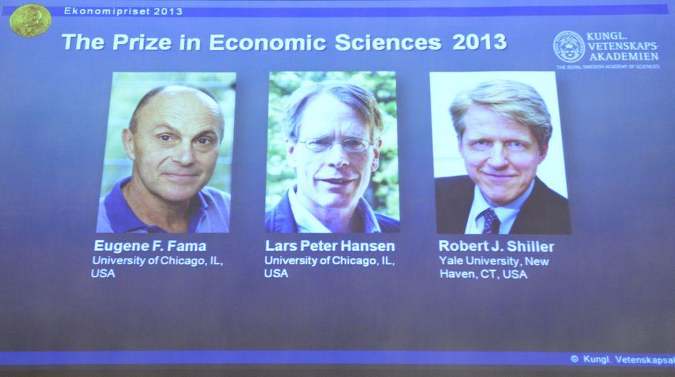 Auszeichnung: Börsenpropheten erhalten Wirtschaftsnobelpreis