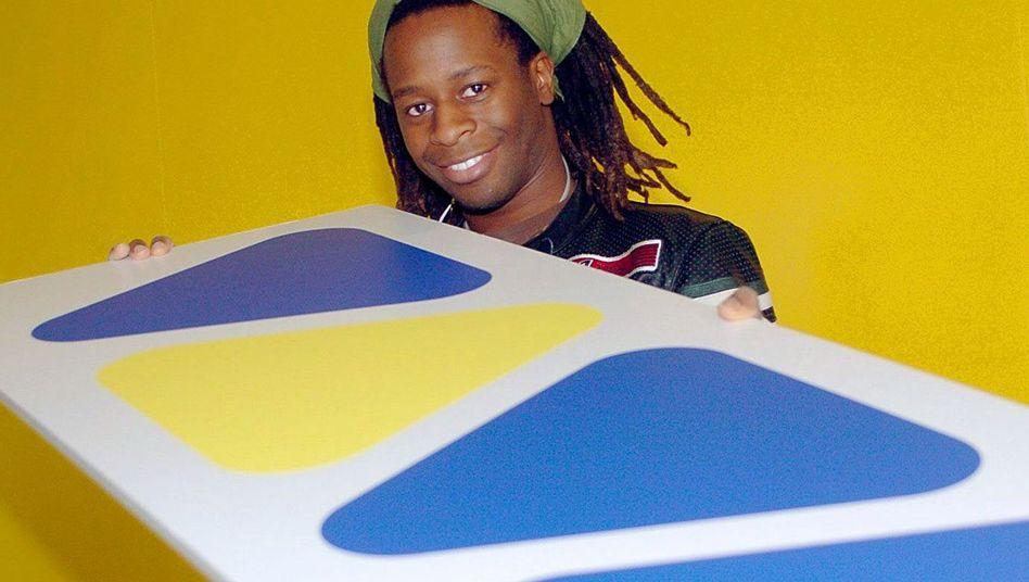 Viva-Moderator Mola Adebisi (Ende 2003)