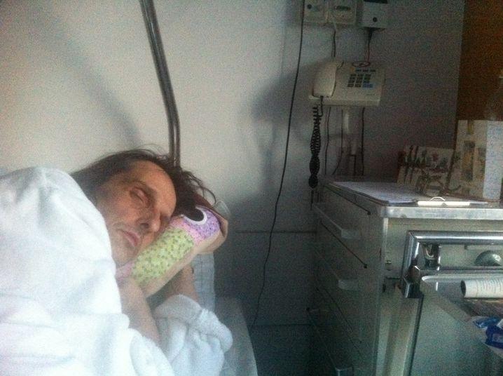 Clemens Hagen im Krankenhaus: Dem Tod von der Schippe gesprungen