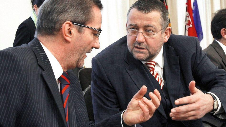 Partner Platzeck, Speer: Eng verschlungene Karrieren