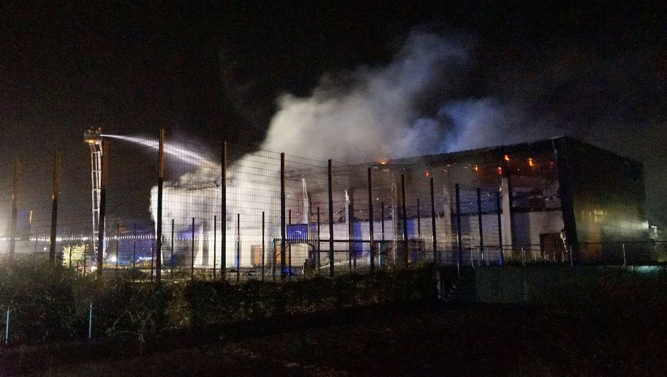 Brandenburg: Geplante Flüchtlingsunterkunft in Nauen niedergebrannt