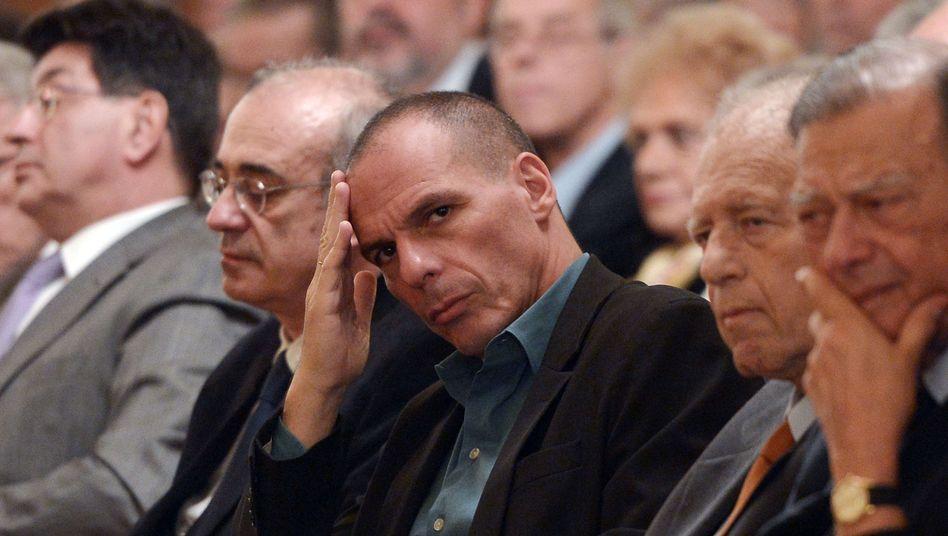 """Griechischer Finanzminister Varoufakis: """"Ich sage Ihnen nicht, mit wem"""""""
