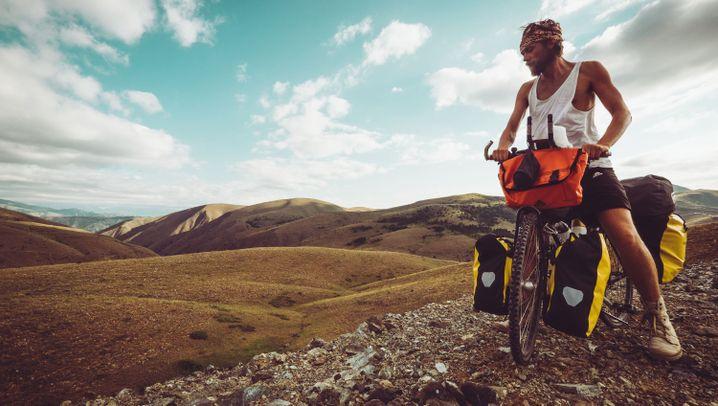 Von Amsterdam nach Singapur: Ein Mann, ein Rad, ein Zelt