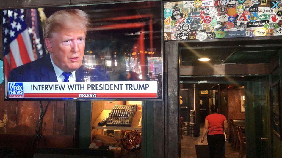 Interview mit Trump bei Fox News: Der US-Präsident schwärmt mittlerweile für einen anderen Sender