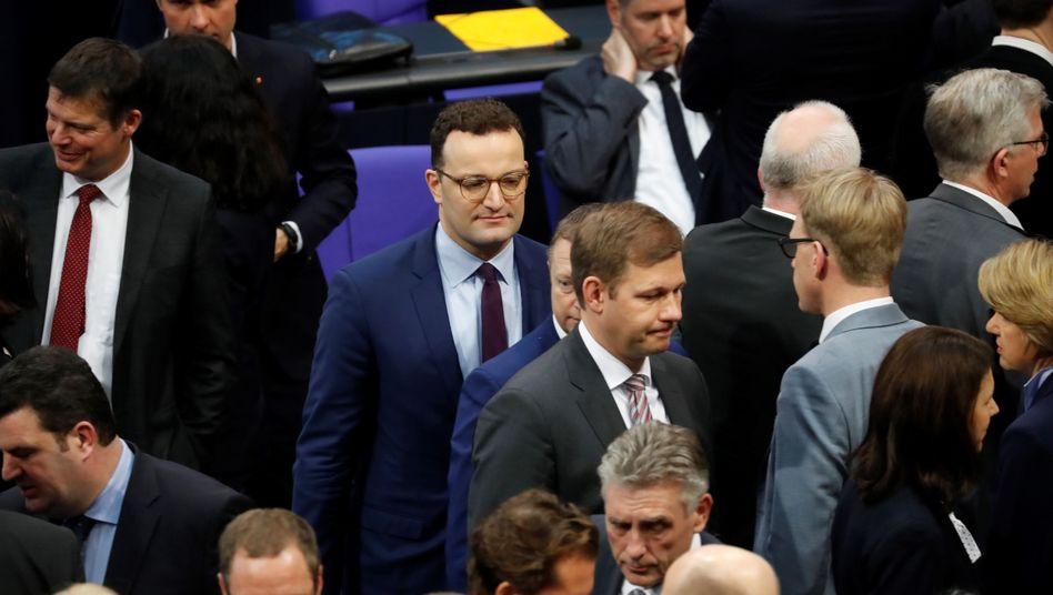 Abstimmung im Bundestag zur Organspende: Die Parlamentarier entschieden sich mehrheitlich gegen den Gesetzentwurf von Jens Spahn