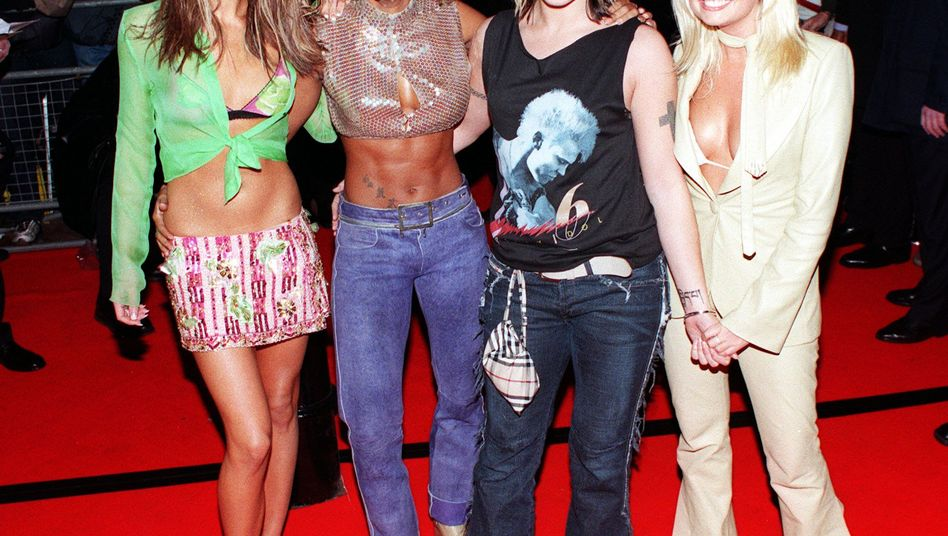 Die Spice Girls im Jahr 2000