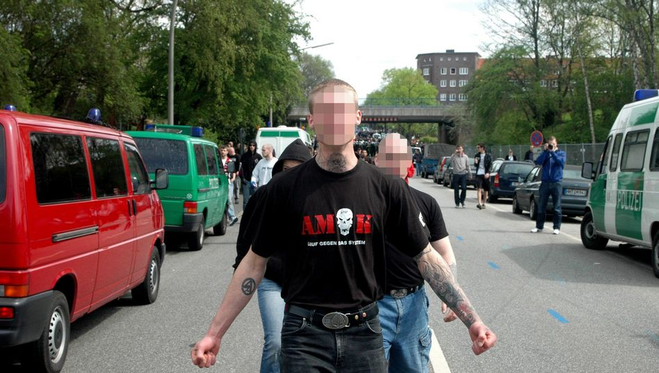 Sebastien N., alleged to one of six neo-Nazis planning to form a terrorist group.