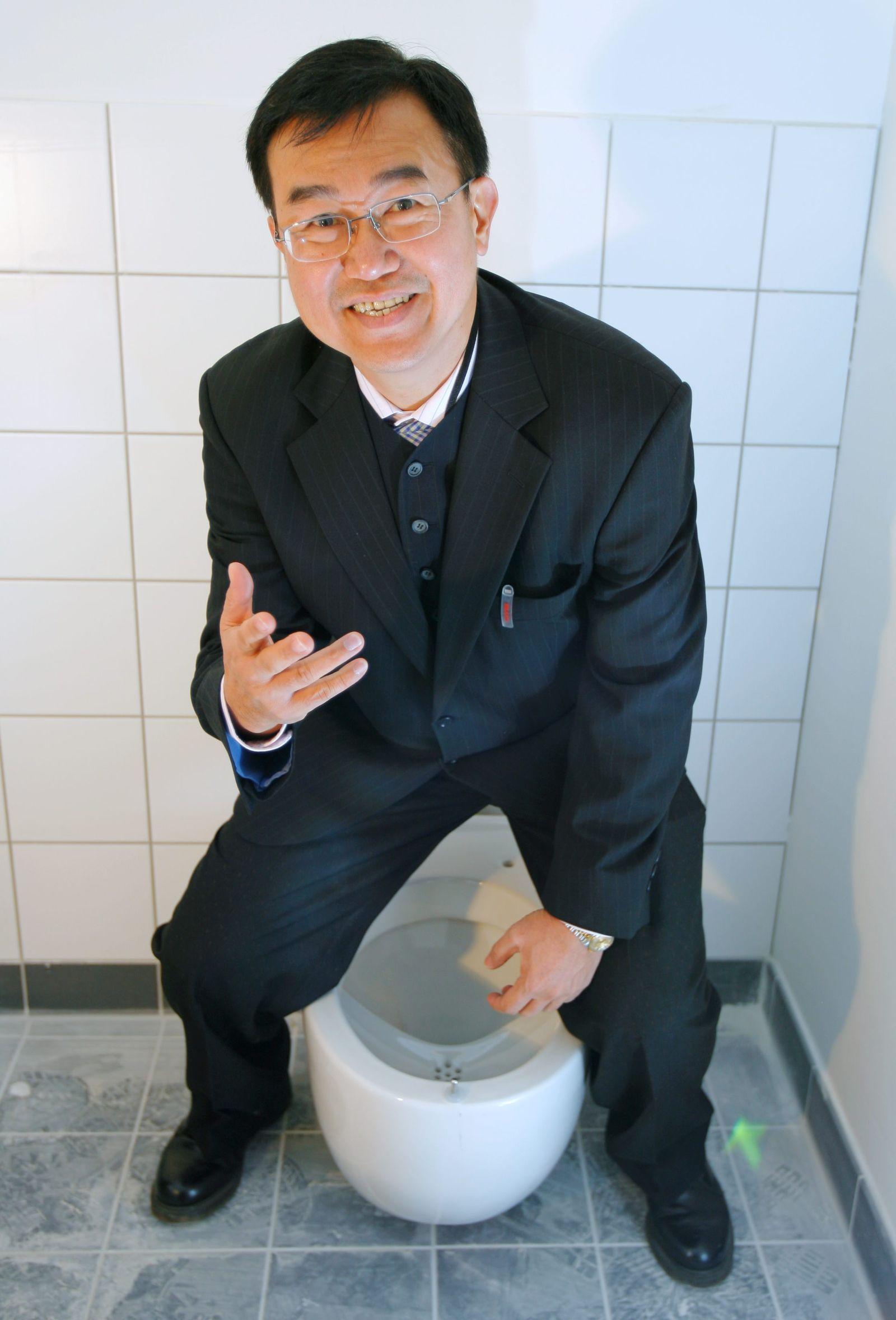 Toilette Herrentoilette