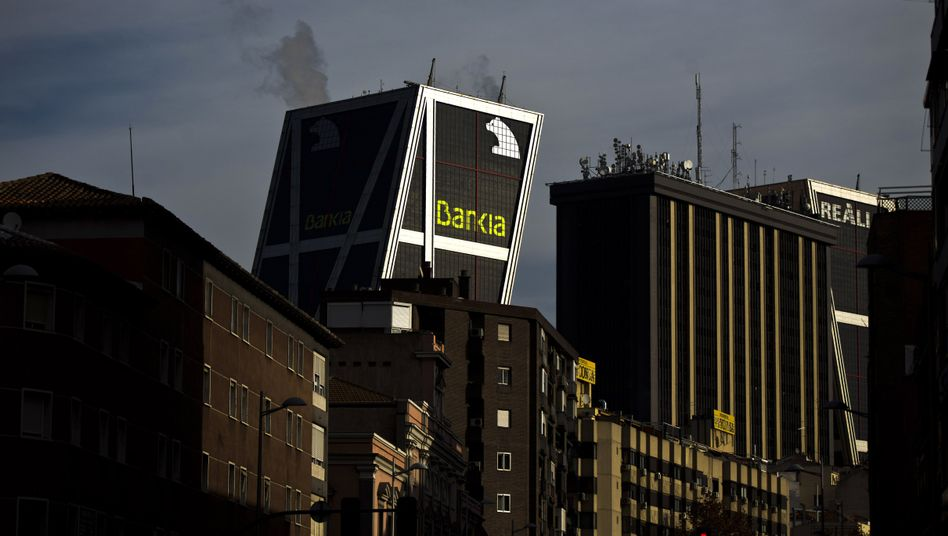 Bankia-Zentrale in Madrid: Konzern in Schieflage