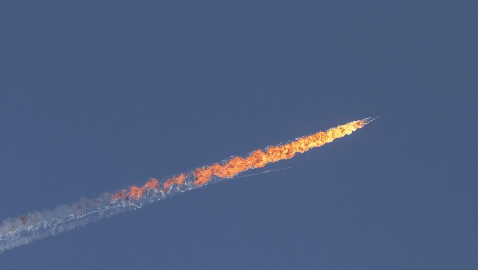 Flugzeugabsturz: Ein Pilot überlebte, der zweite kam ums Leben