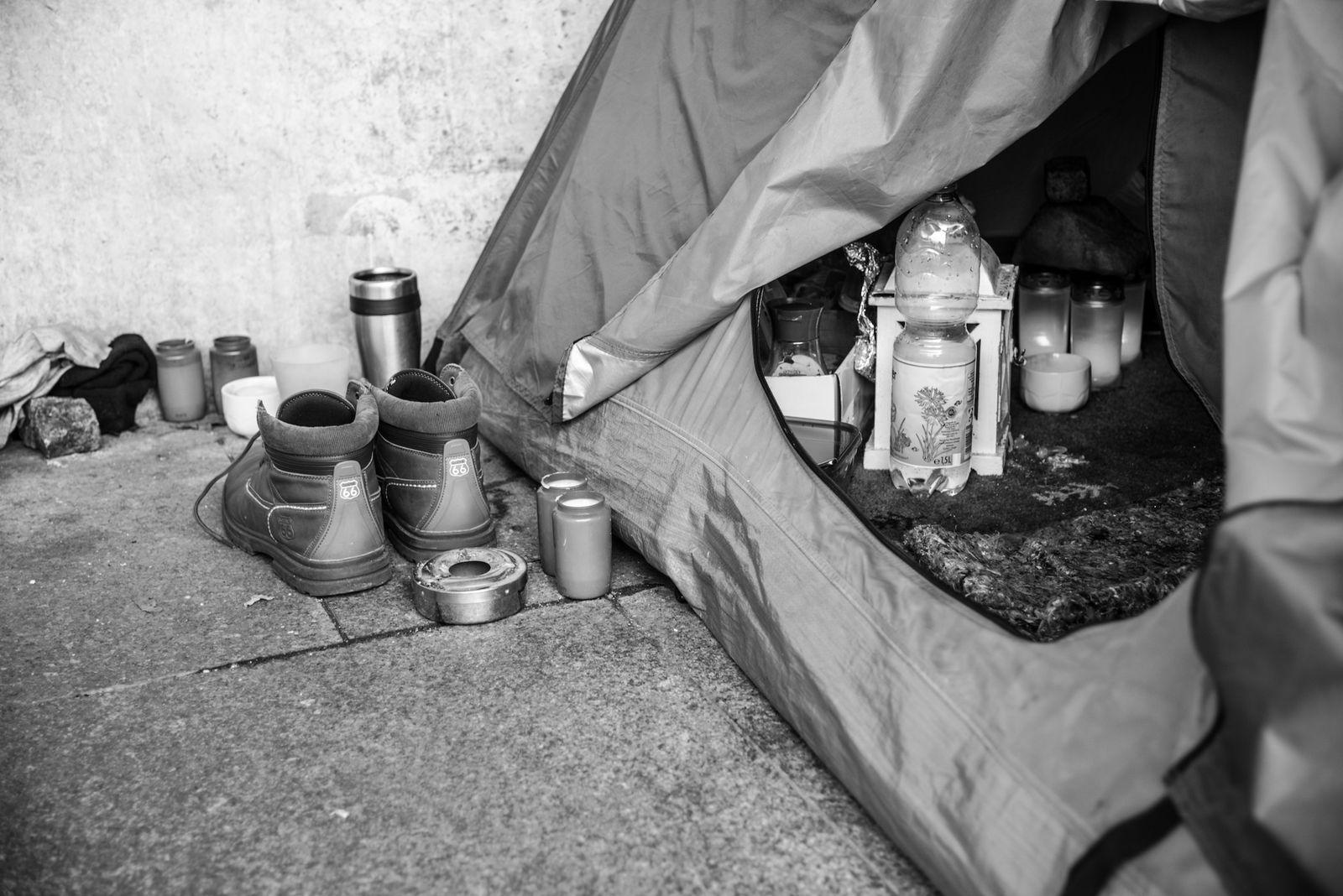 Obdachlosigkeit - Orte © Debora Ruppert -1