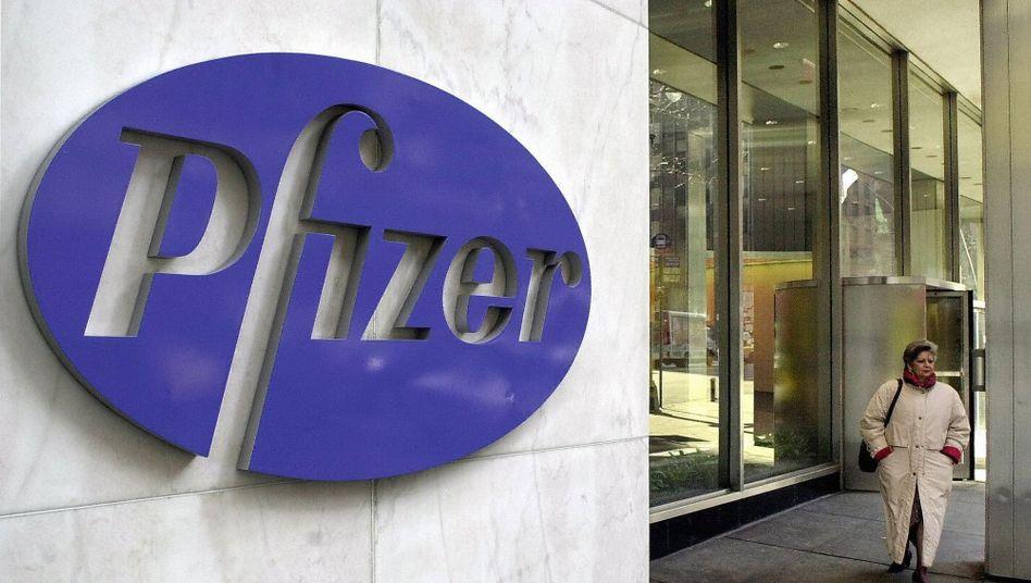 Die New Yorker Zentrale von Pfizer (Archivbild)