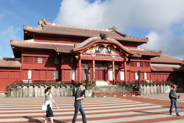 Hauptgebäude der Shuri-Burg (2016)