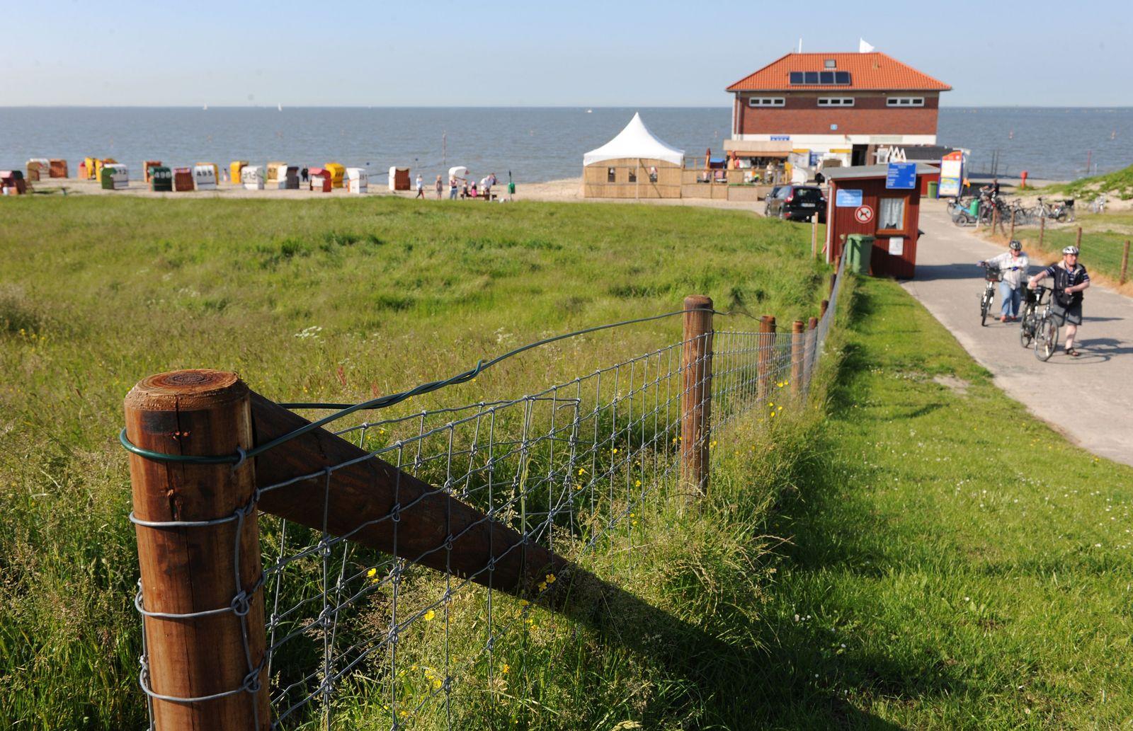 Strand von Hooksiel